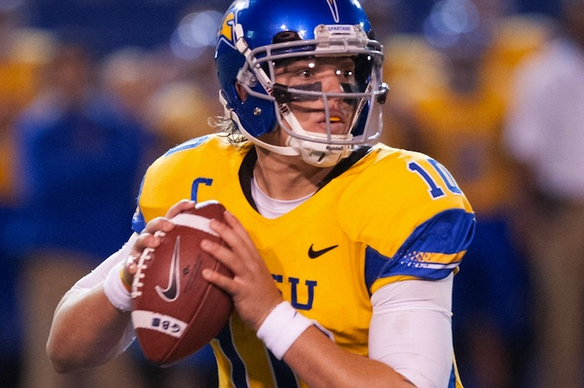 David Fales won the battle against Derek Carr and made the San Jose State bowl eligible. (USATSI)