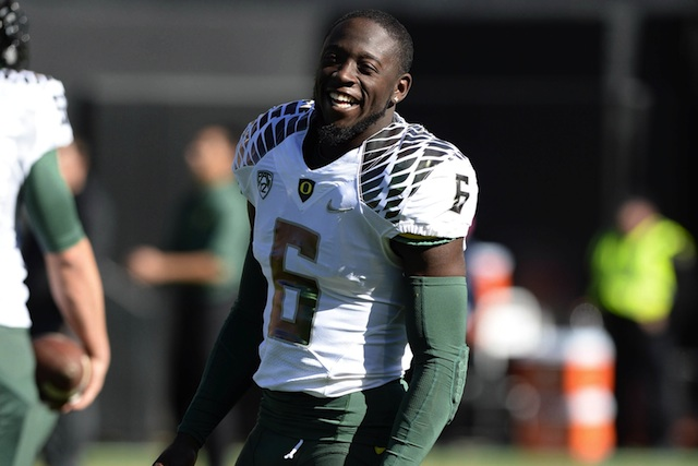 De'Anthony Thomas has confidence in Oregon's ability to score against Stanford. (USATSI)