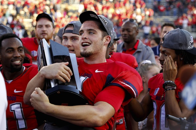 Derek Carr led Fresno State to a share of the Mountain West title in 2012. (USATSI)