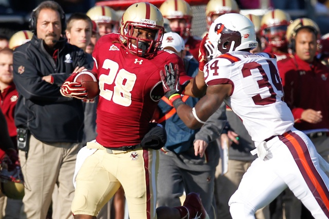 Rolandan Finch has decided to leave the Boston College team for personal reasons. (USATSI)