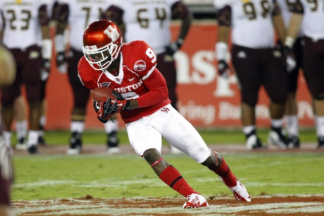 After leading Houston in receiving in 2012, Dewayne Peace is reportedly leaving the program. (USATSI)
