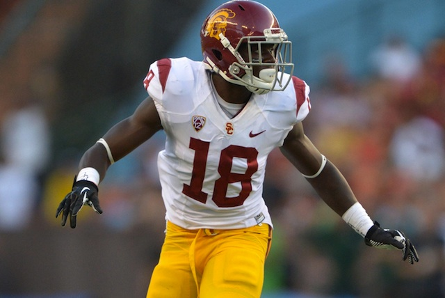 Dion Bailey will go pro after three years as a starter for the Trojans defense.  (USATSI)