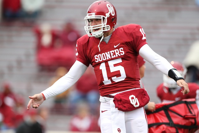 Oklahoma quarterback Drew Allen will transfer to Syracuse with one year of eligibility. (USATSI)