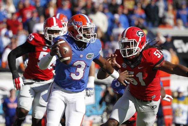 Florida-Georgia 2014: Gators score first touchdown on a ...