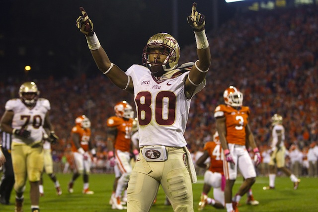 No. 3 Florida State received two first-place in the new AP poll. (USATSI)