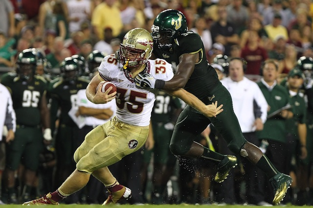 Florida State tight end Nick O'Leary is reportedly ready for fall camp after surviving a motorcycle crash in May. (USATSI)