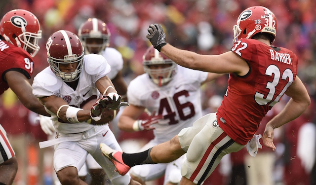 cbs sports alabama football coolege football scores