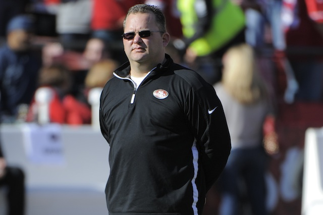 Greg Roman's reportedly signed a two-year extension with the 49ers. (USATSI)