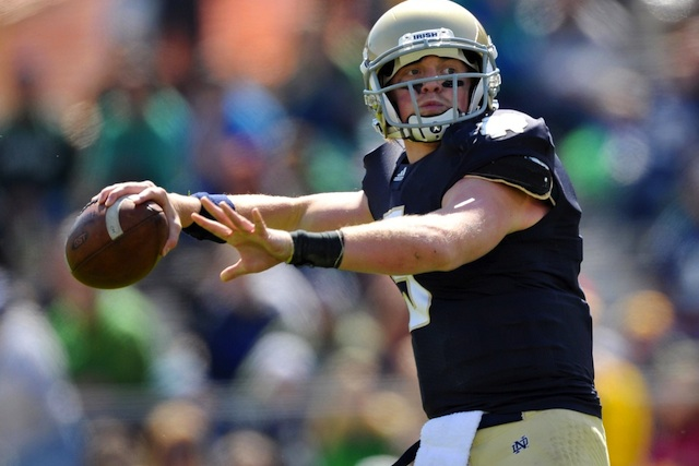 Notre Dame coach Brian Kelly thinks Gunner Kiel found the right fit at Cincinnati. (USATSI)