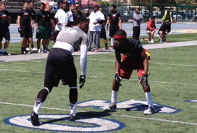 Chris Hawkins steals the show, commits to USC at Los ... - photo#5