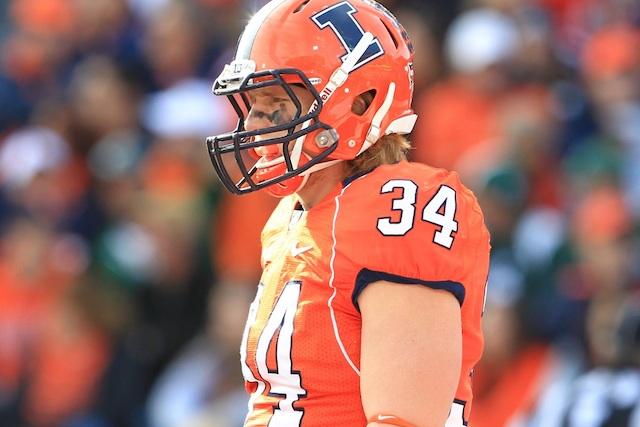 Mike Svetina ranked fifth on the team in tackles last season. (USATSI)