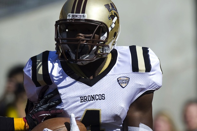 Western Michigan wide receiver Jaime Wilson will miss a majority of the season with an ankle injury. (USATSI)