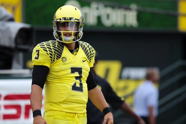 Oregon quarterback Jake Rodrigues plans to transfer.  (USATSI)