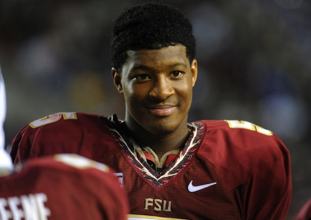 Florida State quarterback Jameis Winston has become a fast fan favorite in Tallahassee. (USATSI)