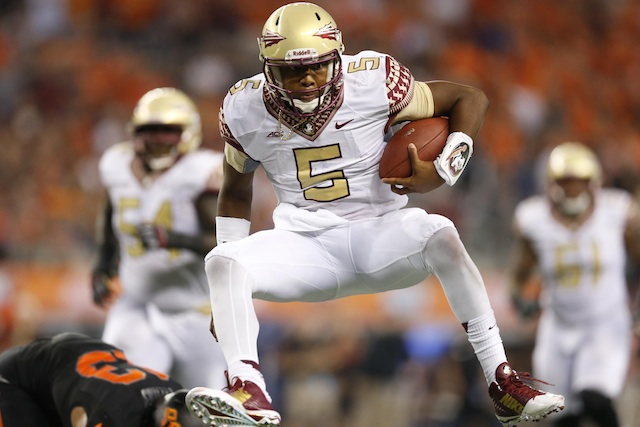 Florida State remains No. 1 in the polls after Week 1. (USATSI)