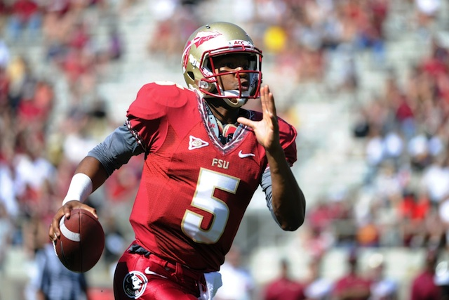 Jimbo Fisher is not ready to name Jameis Winston the starting quarterback at Florida State. (USATSI)