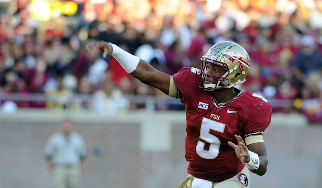 Miami could be the last ranked team Jameis Winston faces in the regular season. (USATSI)