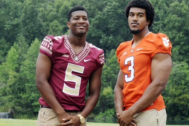Jameis Winston and Vic Beasley led the ACC preseason player of the year voting. (USATSI)