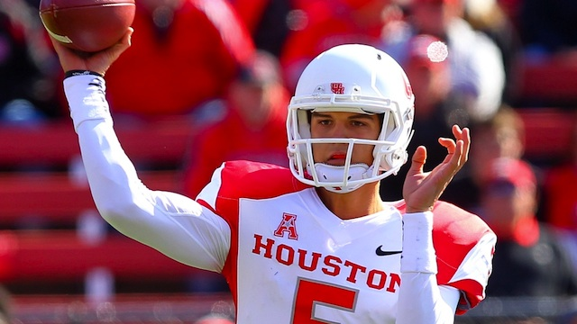 John O'Korn has been a big reason Houston is already contending for conference titles in the AAC. (USATSI)