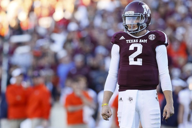 Johnny Manziel (shoulder) is expected to play against Vanderbilt on Saturday. (USATSI)
