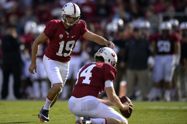 Jordan Williamson hit a game-winning field goal against UCLA in the Pac-12 title game. (USATSI)