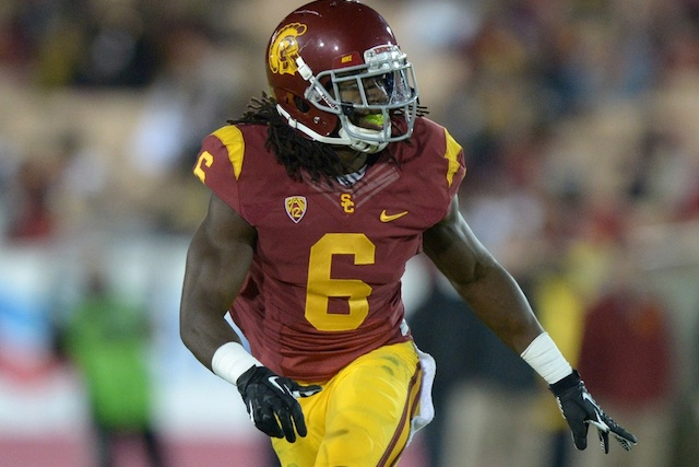 Josh Shaw jumped from a second floor balcony to save his nephew from drowning. (USATSI)