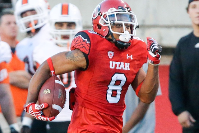Kaelin Clay made the most of his Utah debut with two return TDs. (USATSI)