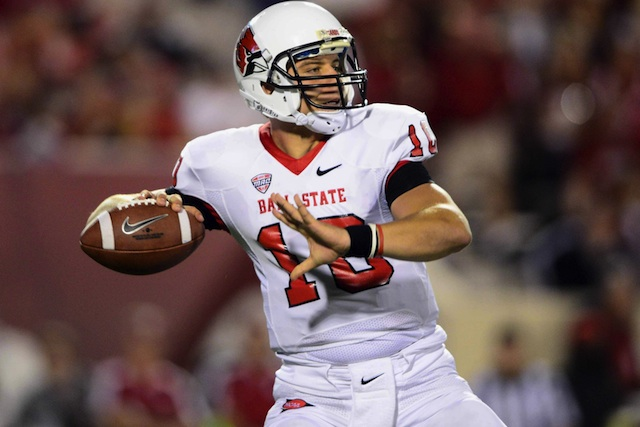 Ball State coach Pete Lembo says QB Keith Wenning (knee surgery)will be ready for the season opener on Aug. 29. (USATSI)