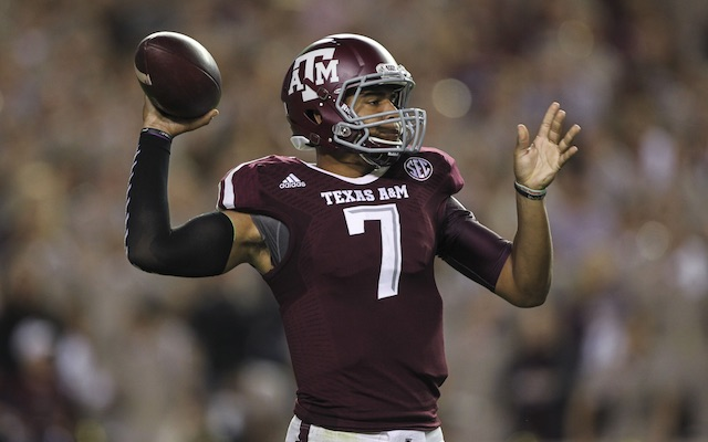Kenny Hill threw for 511 yards in his first career start. (USATSI)