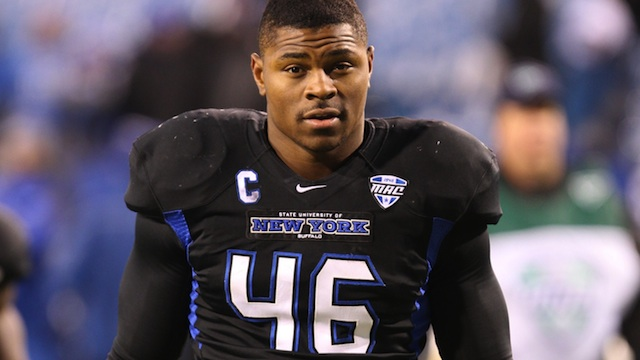 Mack will have the opportunity to set another NCAA record if Buffalo is bowling.  (USATSI)