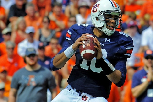 Kiehl Frazier, Auburn's former starting quarterback, will permanently move to safety for 2013. (USATSI)