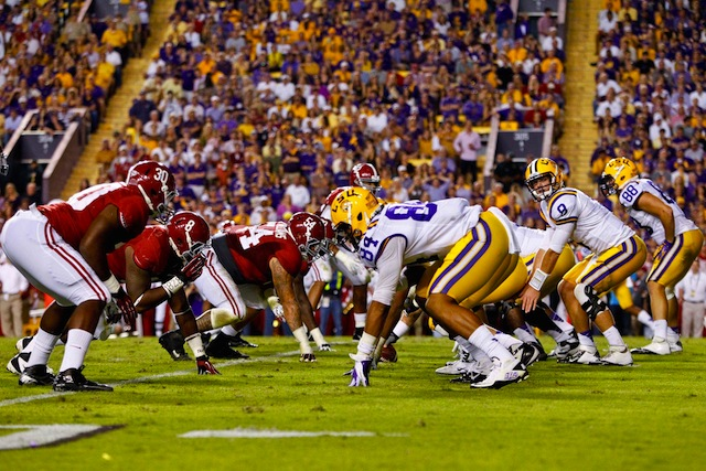 Alabama and LSU add a new chapter to the rivalry Saturday night on CBS. (USATSI)