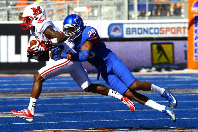 Former Boise State defensive back Lee Hightower plans on finishing his career at Houston. (USATSI)
