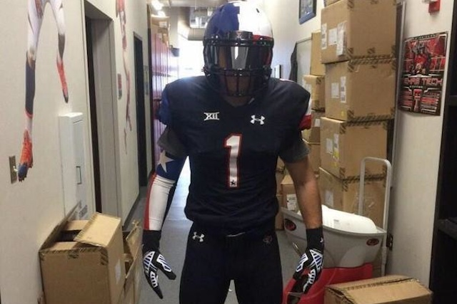 24192cf03f5 Texas Tech will have black Lone Star Pride uniforms vs. Texas ...