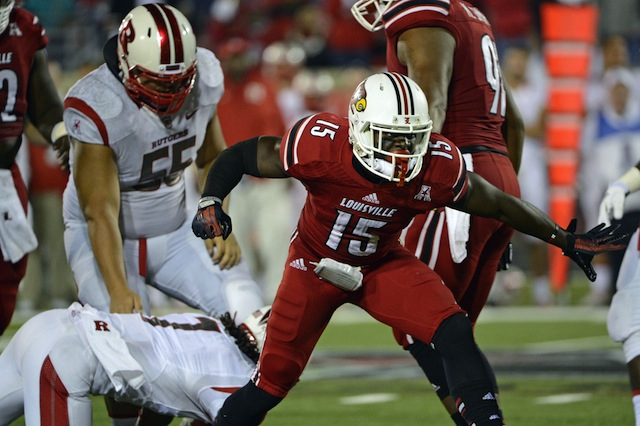 Louisville's defense was dominant in a 24-10 win against Rutgers. (USATSI)