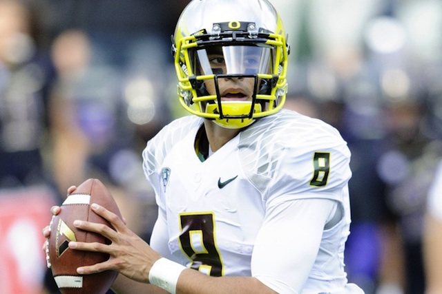 Marcus Mariota delivered a Heisman-worthy performance at Washington. (USATSI)