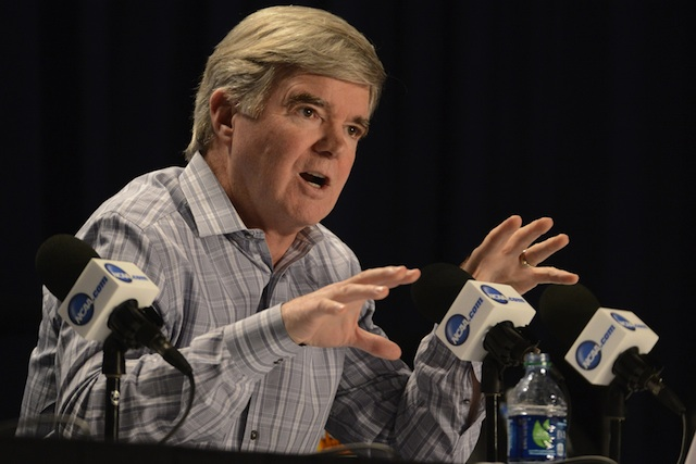 Mark Emmert discussed the reform ahead for the NCAA on Monday at Marquette. (USATSI)