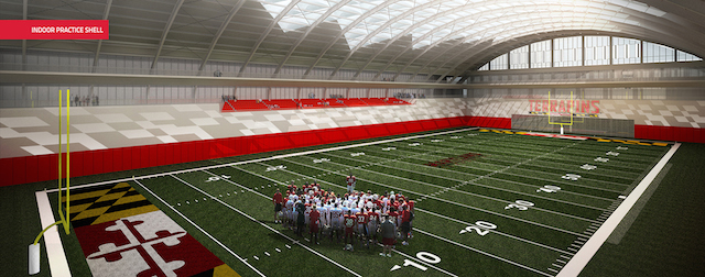 LOOK: Maryland's $155M Renovation Plan For Cole Field