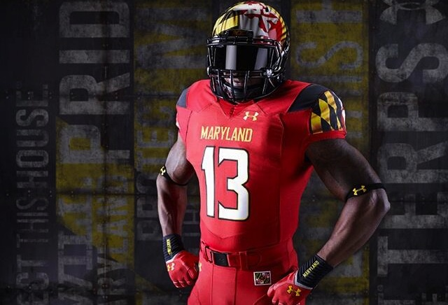Maryland will debut the new Maryland Pride uniforms against West Virginia on Saturday. (USATSI)