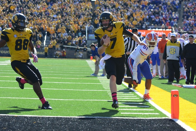 Missouri controls their own destiny in the SEC East thanks to Maty Mauk. (USATSI)