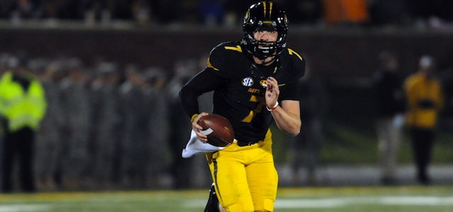 Maty Mauk ran for 141 yards in the win against Tennessee. (USATSI)