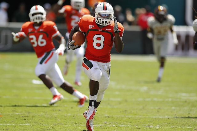 ACC Rookie of the Year Duke Johnson returns with 10 offensive starters from 2012. (USATSI)