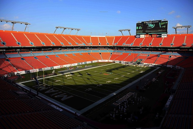 The Miami Dolphins have canceled plans to renovate Sun Life Stadium after public funding options were blocked. (USATSI)