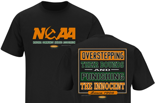 0a6e535b Communist themed anti-NCAA shirt gets a Miami edition - CBSSports.com