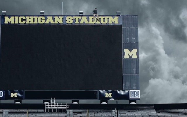 michigan knocks off drake s views from the 6 cover with jim