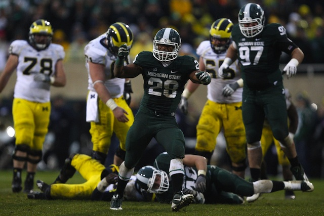 In shutting down Michigan, the Spartans good enough to challenge Ohio State. (USATSI)