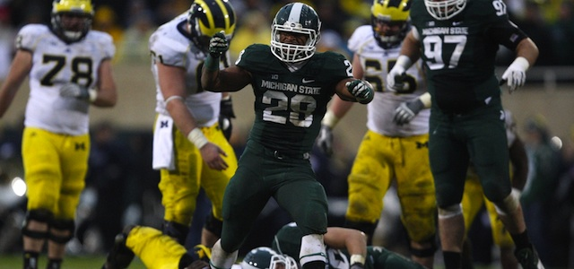 Denicos Allen led Michigan State's defense with nine tackles. (USATSI)