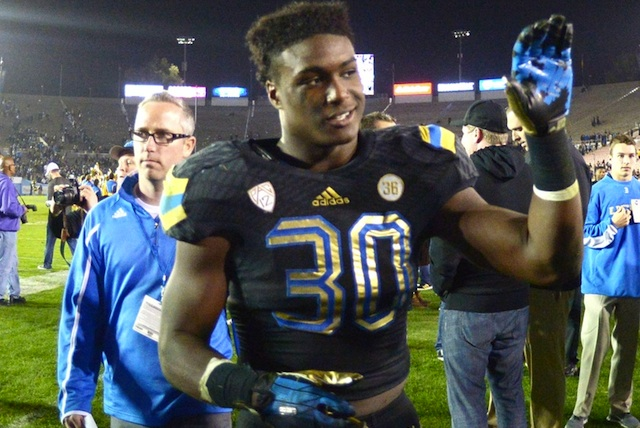 UCLA freshman Myles Jack is one of five finalists for the Paul Hornung Award. (USATSI)