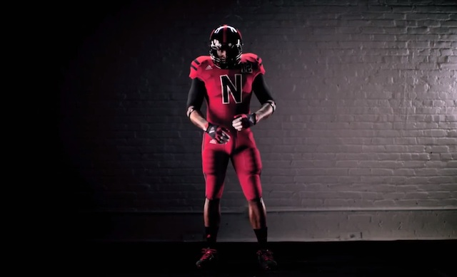 VIDEO  Nebraska unveils alternate adidas uniforms for Wisconsin game ... 1f7ef06be