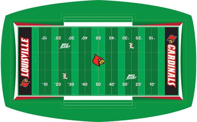 A mock up of Louisville's new field design for 2013. (Twitter.com/University of Louisville)